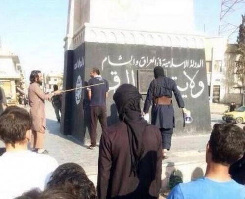 Rakka, Συρία σωφρονιστικές δημόσιες μαστιγώσεις από τους ελευθερωτές!