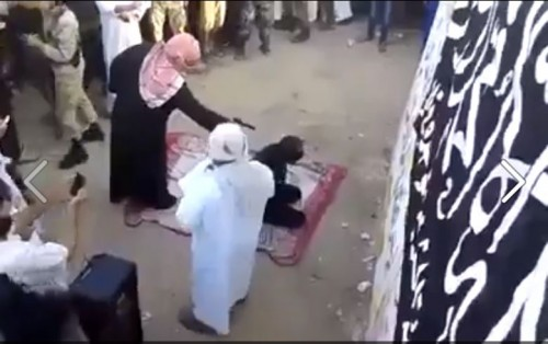 H εκτέλεση από το σαριακό δικαστήριο του χριστιανόπουλου