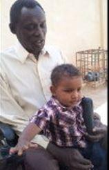 ο σύζυγός της Daniel με τον γιό τους Martin