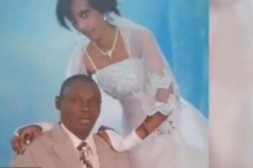 η 27χρονη με τον χριστιανό συζύγό της στην γαμήλια φωτογραφία