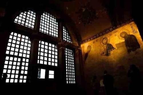 ψηφιδωτό-με-τον-Χριστό-Κωνσταντινούπολη