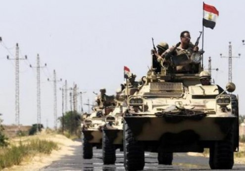 aigyptian army