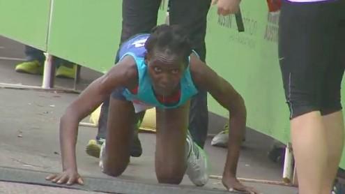 Austin-Marathon-Hyvon-Ngetich-Crawling-to-Finish