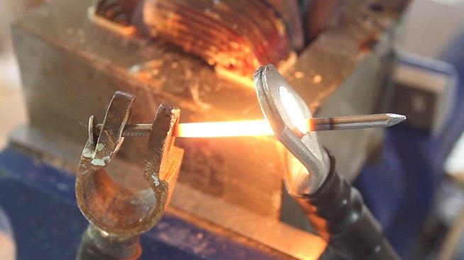 Как расплавит металл в домашних условиях