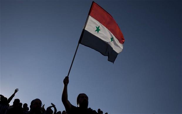 Αποτέλεσμα εικόνας για συριακη σημαια