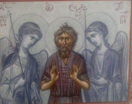 Αποτέλεσμα εικόνας για Άγιοι Συμεών ο δια Χριστόν σαλός και Ιωάννης