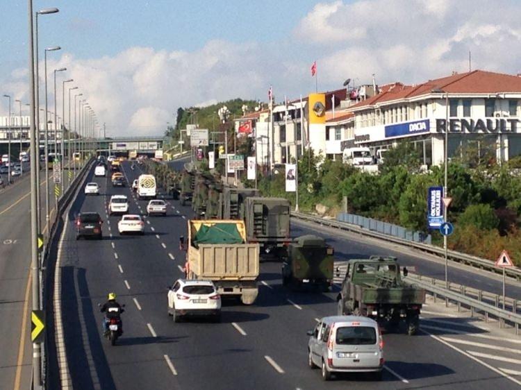 ΕΚΤΑΚΤΟ- Αναδιάταξη των τουρκικών δυνάμεων στην Α.Θράκη; Μετακινείται τουρκική στρατιωτική φάλαγγα με δρακόντεια μέτρα ασφαλείας