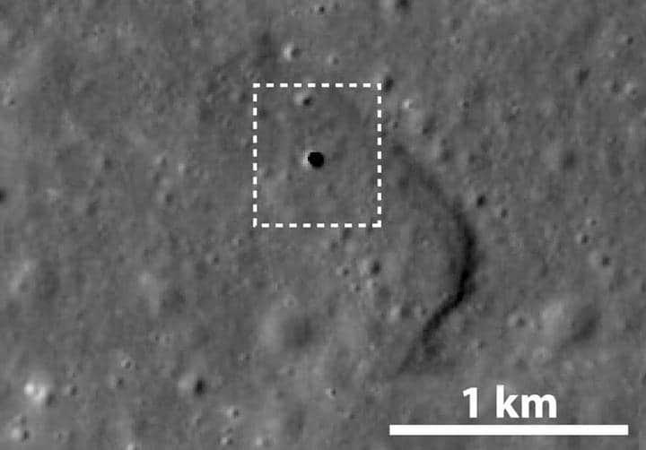 Βρήκαν «είσοδο» 50 χλμ για το «εσωτερικό» της Σελήνης !!!