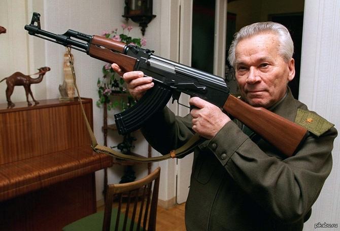 Αποτέλεσμα εικόνας για Μιχαήλ Καλάσνικοφ – Το ΑΚ-47