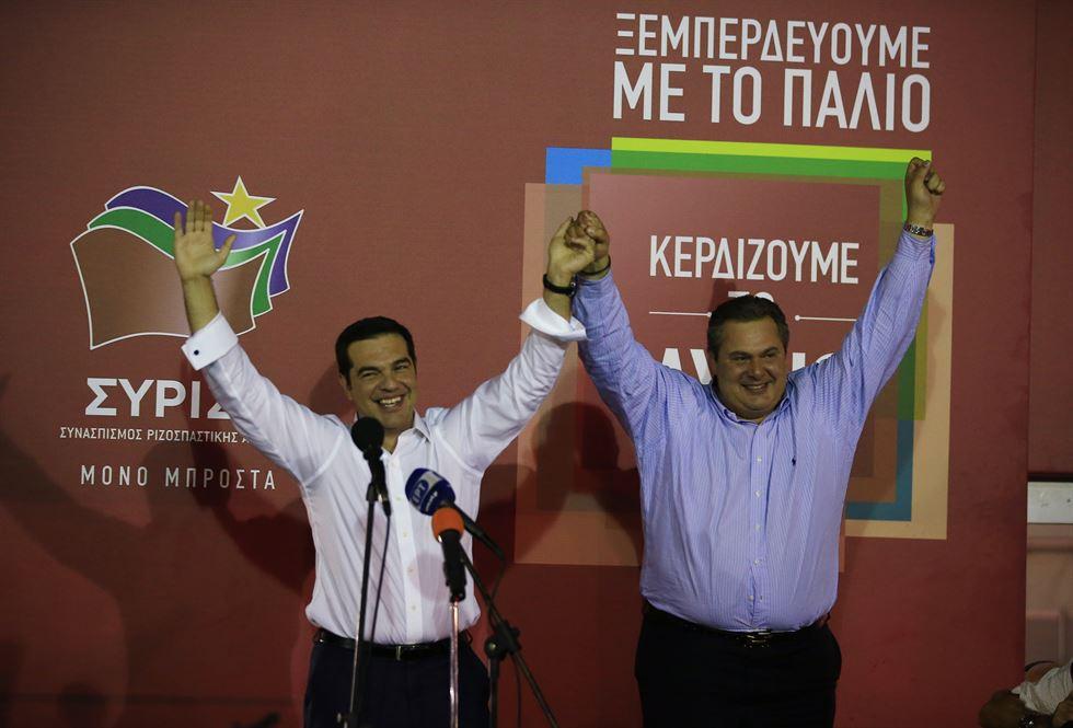 Αποτέλεσμα εικόνας για Tsipras-Kammenos