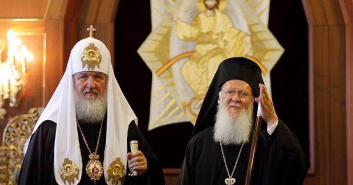 Αποτέλεσμα εικόνας για διακοπη μνημονευσης απο το πατριαρχειο μοσχας