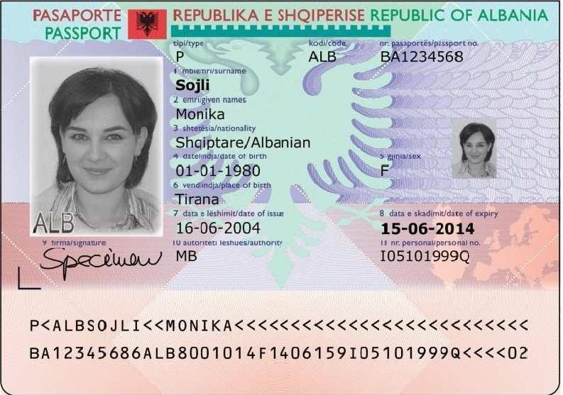 Ηλεκτρονική ταυτότητα Αλβανίας