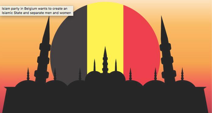 Αποτέλεσμα εικόνας για To Ισλάμ στο Βέλγιο