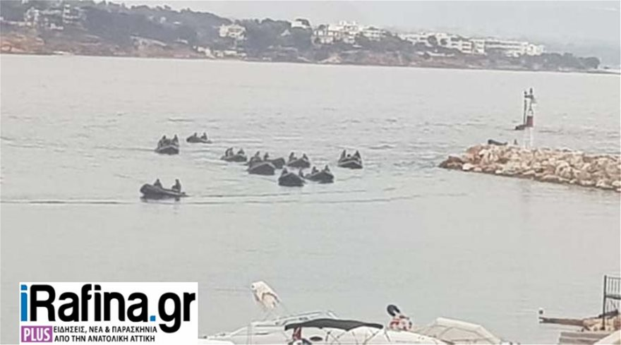 8fc1444e40d Κεντρική φωτογραφία άρθρου: Ζ ΜΑΚ και ΟΥΚ ψάχνουν για εντοπισμό αγνοουμένων  στην θάλασσα της Ραφήνας.Με τουλάχιστον 19 φουσκωτά προσπαθούν να  εντοπίσουν ...