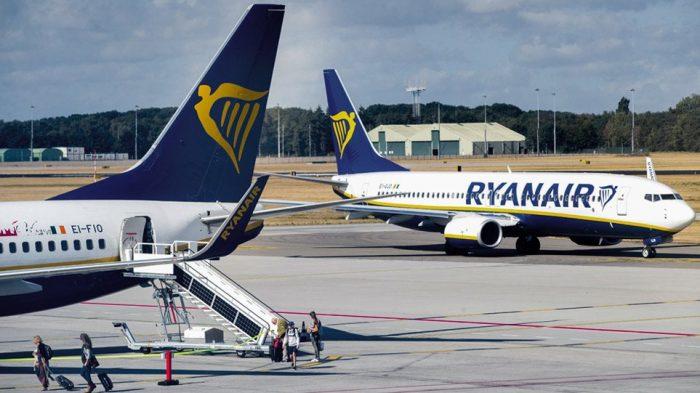 72656a01a7 Ερχονται αλλαγές – Ryanair  Τέλος στη δωρεάν χειραποσκευή μέχρι 10 κιλά!