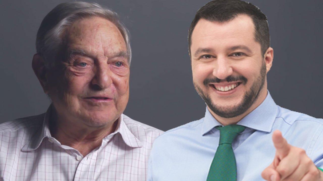 Ο Σαλβίνι κηρύσσει τον «πόλεμο» στην παγκοσμιοποίηση: «Δεν κάνουμε χάρες στο Σόρος, δεν θα γονατίσω μπροστά σου» – «Δεν ξεπουλάω την Ιταλία»