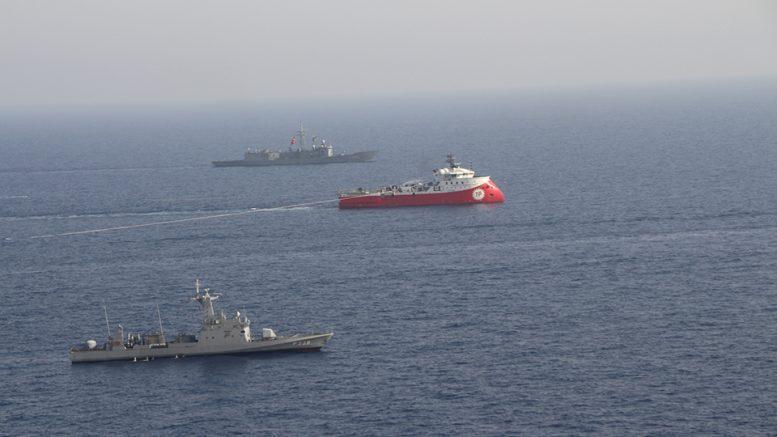 Θρίλερ στην Kυπριακή ΑΟΖ: Εντός οικοπέδου 4 το Barbaros – Συνοδεύεται από πολεμικά πλοία – Η Φ/Γ Ψαρά παρακολουθεί κάθε κίνηση