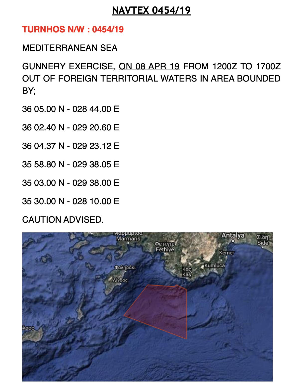 Τουρκική «φρενίτιδα» στο Αιγαίο: Με τρεις NAVTEX κλειδώνουν Καστελόριζο-Λήμνο-Λέσβο – Θα «πέσουν» πυρά