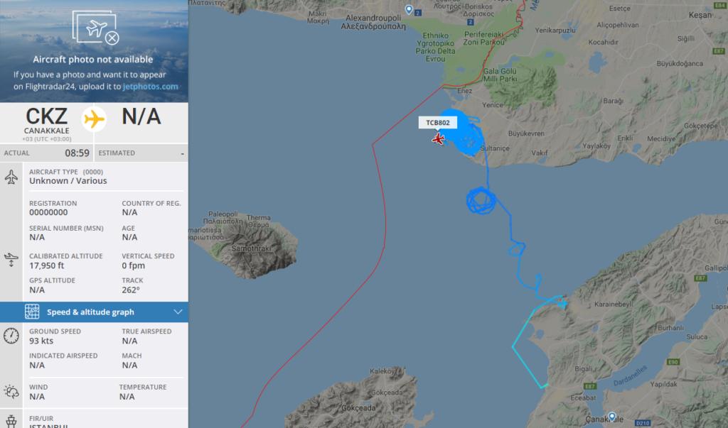 Επιθετικές ενέργειες Τούρκων στη Θράκη: Αναγνωριστικές πτήσεις τουρκικού κατασκοπευτικού στο Δέλτα του Έβρου – Δείτε χάρτη...