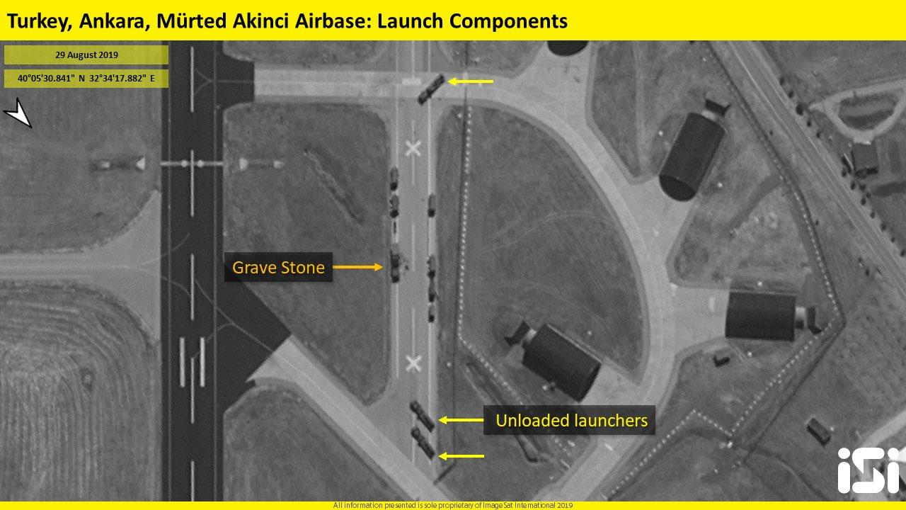 Ισραηλινοί δορυφόροι «κάρφωσαν» τις θέσεις των τουρκικών S-400 στην Άγκυρα! – Εικόνες-ντοκουμέντο