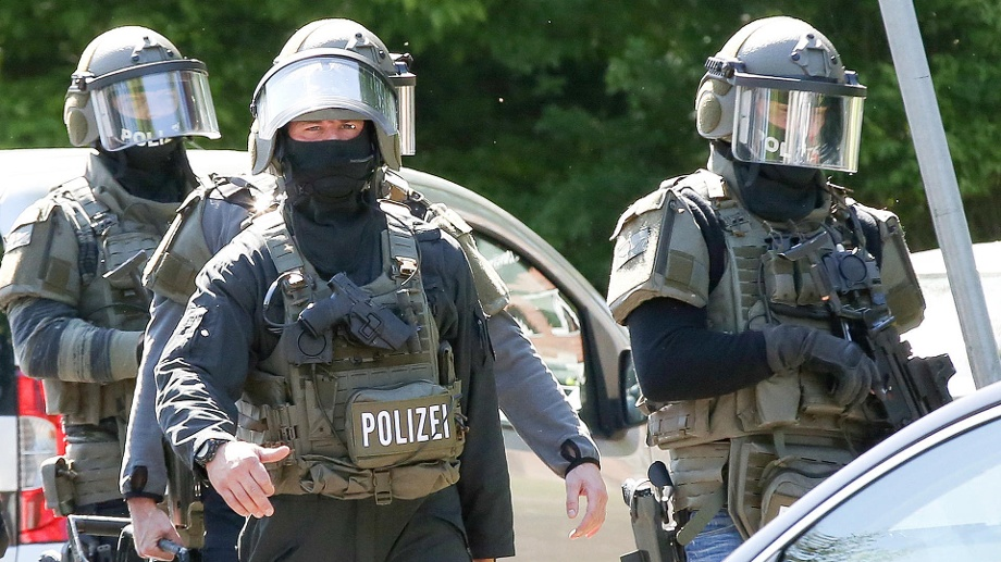 Handgranaten Polizei