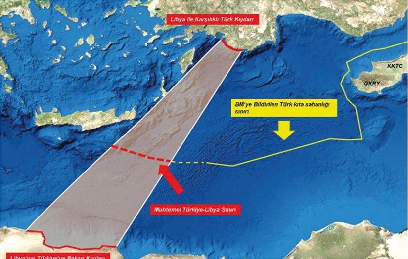 Στρατιωτική συμφωνία Άγκυρας-Τρίπολης: Οι Τούρκοι στέλνουν πολεμικά πλοία στους ισλαμιστές – Ανοίγει μέτωπο νοτίως της Κρήτης...