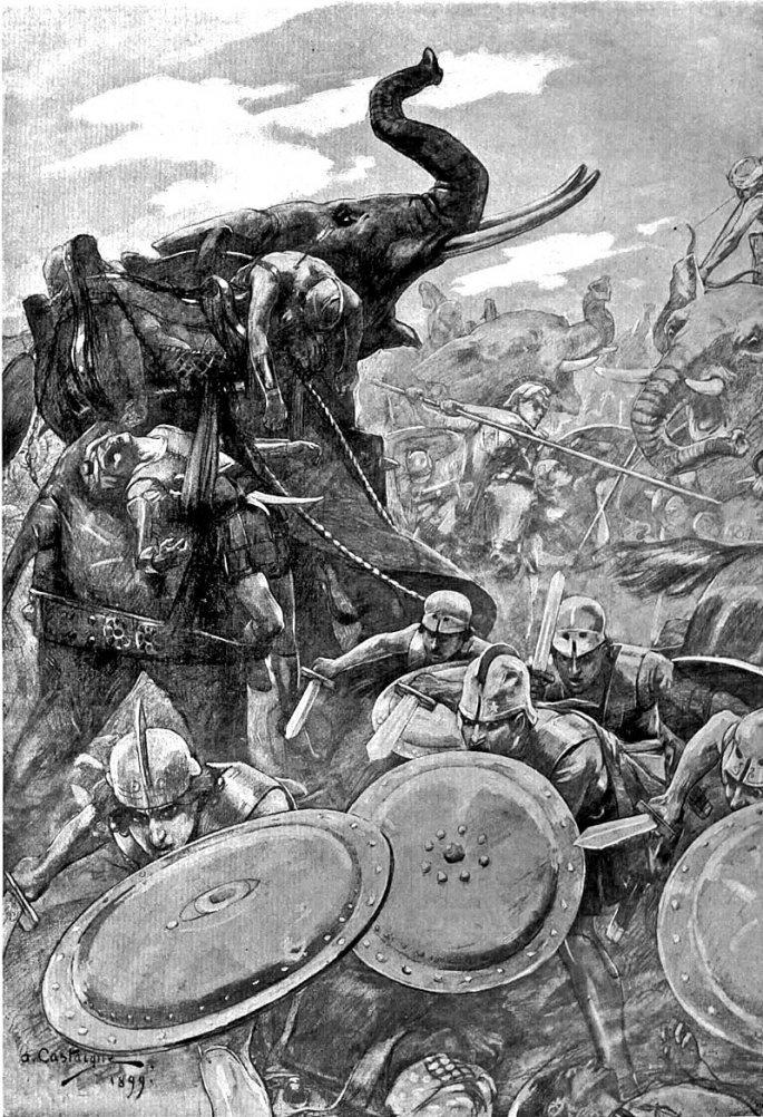 Mέγας Αλέξανδρος: Πολεμούσε πάντα στην πρώτη γραμμή...