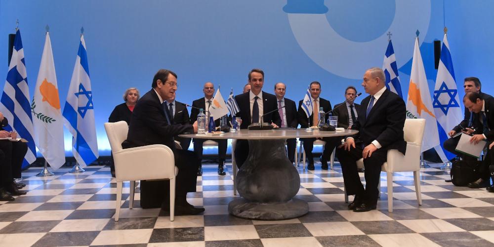 Υπεγράφη η συμφωνία για τον Eastmed – Οι κοινές δηλώσεις Μητσοτάκη, Αναστασιάδη, Νετανιάχου